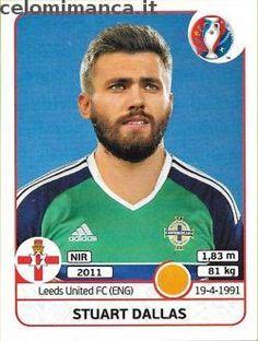 UEFA EURO 2016™ Official Sticker Album: Fronte Figurina n. 337 Stuart Dallas