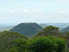 Table Top mountain, near Toowoomba.