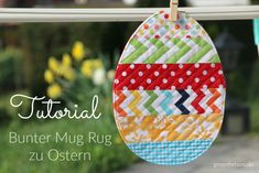 Sewing Projects Easter Mug Rugs 52 New Ideas Fabric Crafts, Sewing Crafts, Sewing Projects, Sewing To Sell, Diy Ostern, Mug Rugs, Sewing For Beginners, Sewing Patterns Free, Diy Crafts To Sell