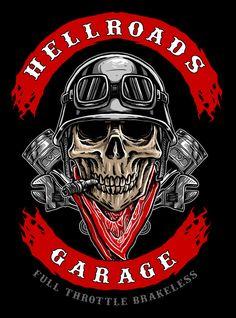 biker skull logo - Buy this stock vector and explore similar vectors at Adobe Stock Motorcycle Logo, Motorcycle Clubs, Motorcycle Clipart, Harley Davidson Wallpaper, Harley Davidson Art, Mandilon Memes, Ghost Rider Marvel, Totenkopf Tattoos, Skull Pictures