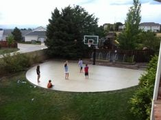 Basketball Court Photo Albums - Pro Dunk Hoops