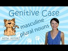 Russian grammar video - Learn how to form the genitive case of masculine plural nouns.