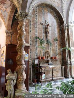 Sanctuary of Santa Rosalia - Palermo: Entrance Chapel
