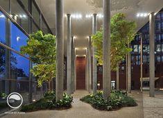 #landscape #architecture #garden #public #space #atrium