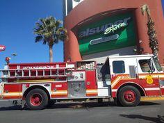 5 personas intoxicadas tras incendió en la cocina de Al Super Santa Fe   El Puntero