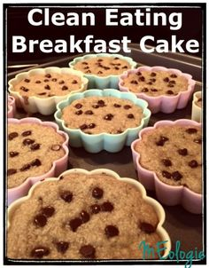 These breakfast cakes/muffins are dairy free , gluten free, and naturally sweetened with organic honey