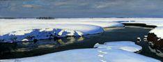 Fałat Winter landscape with a river - Юліан Фалат — Вікіпедія