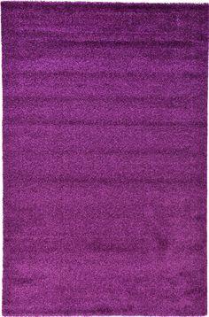 Purple 6' 7 x 10' 0 Frieze Rug | Area Rugs | eSaleRugs