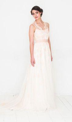 hochzeitskleid brautkleid white blossom
