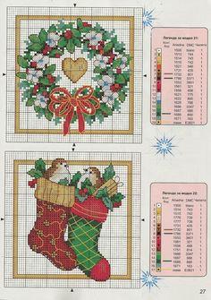 Little Things [Pattern / Chart] [Christmas - Cross Stitch]
