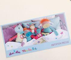 Luc et Léa, Moulin roty, collaboration, enfant, invitation presse, kid, peluches, jouets, nouvelle collection