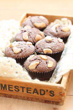 chococoこと友香さんの『簡単お菓子のレシピとラッピングの方法』「カシューナッツのブラウニー」 | お菓子・パンのレシピや作り方【corecle*コレクル】