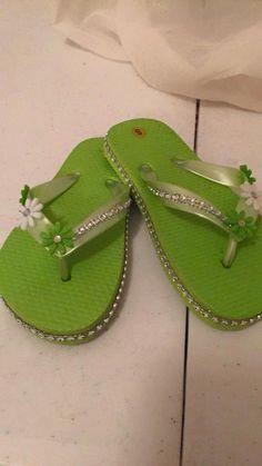 0319abf3185b6 Bling Flip Flops Sandals Kid s Decorated Flip by KiddoCreation