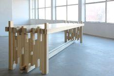 OOTO | Tulip wood table by Leon van Zanten