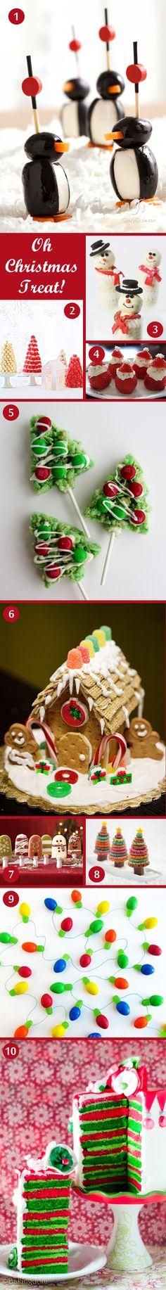Oh Christmas Treats! Christmas party food ideas