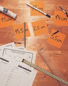 Ideenreise: Aushänge Längenmaße | Schule allgemein | Math ...