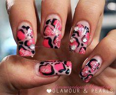 GLAMOUR & PEARLS #nail #nails #nailart