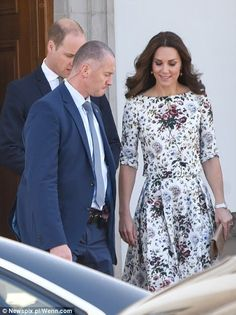 Duke and Duchess of Cambridge visit the concentration camp Stutthof in Gdansk in day 2 of their official visit to Poland. July 18, 2017