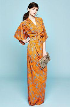 Filtre Print Kimono Maxi Dress | Nordstrom