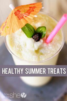 Healthy Summer Treats and Blendtec Blender Giveaway!