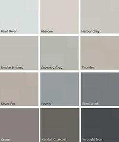 Beautiful grey tones.