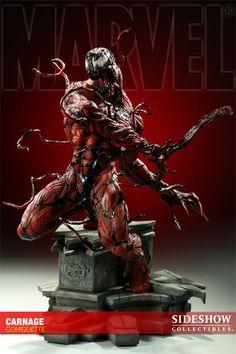 Carnage Polystone Statue