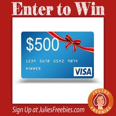 Facebook Twitter PinterestEnter to win 1 of 5 $500 Gift Cards!Ends on May 15, 2016. ENTER HERE