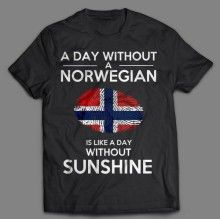 A DAY WITHOUT A NORWEGIAN
