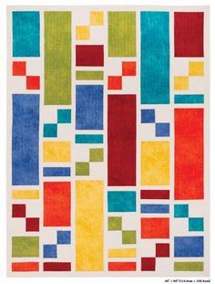 Modern, streamlined, quick, with characteristics such as these, the column quilt will no doubt soon become your go-to form of patchwork. Column Quilts by Nancy Zieman. Strip Quilts, Scrappy Quilts, Easy Quilts, Mini Quilts, Modern Quilt Patterns, Quilt Block Patterns, Quilt Blocks, Modern Quilting Designs, Patch Quilt