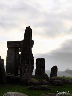 'stonehenge silhouette' photograph placed on canvas #stonehenge #canvas