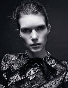 Vogue Russia Editorial December 2014 - Dani Witt & Katherine Mackel by Amy Troost
