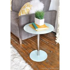 Spool Modern Side Table - Overstock Shopping - Great Deals on LumiSource Coffee, Sofa & End Tables