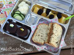 Gluten Free & Allergy Friendly: #UdisBacktoSchool Lunch Ideas & Giveaway!