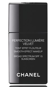 CHANEL PERFECTION LUMIÈRE VELVET SMOOTH EFFECT MAKEUP SPF 15 #want