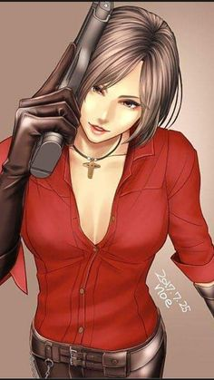 Resident Evil 5, Resident Evil Video Game, Ada Wong, Leon S Kennedy, Video Games Girls, Prince Of Persia, 3d Fantasy, Scary Art, Horror Comics