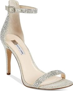 d5d5b5842c9a Inc International Concepts Women s Roriee Rhinestone Ankle-Strap Dress  Sandals