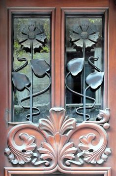 Art Nouveau Window Details