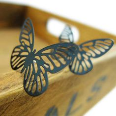 Fashion Butterfly Earrings #fashiondrop