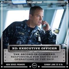 Meet the second-in-command of the USS Nathan James, Mike Slattery, and join The Last Ship this Sunday at on TNT. Post Apocalyptic Novels, The Journey Of Flower, Adam Baldwin, Designated Survivor, George Lopez, Famous In Love, The Last Ship, The Last Kingdom, Fantasy Tv