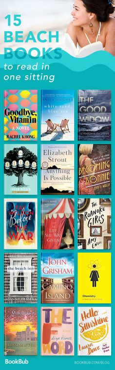 The list of beach reads is perfect for women and young adults going on a trip or vacation during the summer. It features the best easy romance stories.