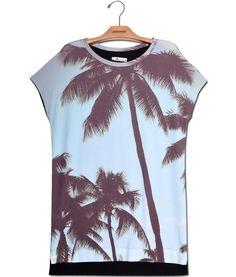 Camiseta Vestido Premium  Coqueiros