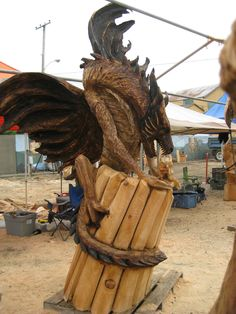 chainsaw carving | Oregon Divisional Chainsaw Sculpting Championships in Reedsport ...