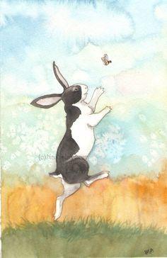 """""""Bunny and Bee"""" by Nakisha VanderHoeven (06/03/15)"""