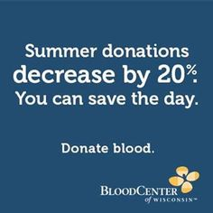 Please help make sure there is a supply of blood and platelets for everyone. You'd want to have your type available if you needed it, wouldn't you?  Register for Trees of Hope Blood Drive Now www.bcw.edu/TreesofHOPE   Wed July 24th Hart Park-Wauwatosa 1-6pm Please sign up & tell all you know Leukemia And Lymphoma Society, Blood Drive, Blood Donation, Save The Day, Trees, Sign, Park, Parks, Wood Illustrations