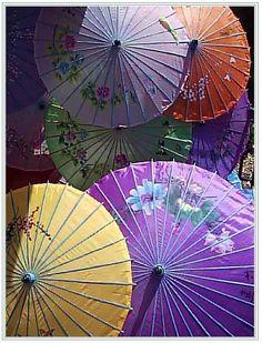 Hand-made umbrellas