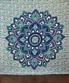 Large Hippie Tapestry Mandala Boho Bedspread Throw Wall Beach