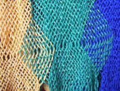Graciela Foradori, taller de telar, arte textil, macramé, sprang