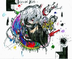 Kaneki Ken - Tokyo Ghoul by eREIina on DeviantArt
