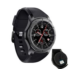 94.58$  Watch here - http://ali3gt.worldwells.pw/go.php?t=32791570758 - New bewot Android Smart Watch DM368 SmartWatch OLED Display Wristwatch Android 5.1 Bluetooth iOS Android Heart Rate Monitor