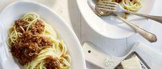 Spaghetti mit Hackfleisch-Balsamico-Sauce Spaghetti, Ethnic Recipes, Food, Al Dente, Gourmet, Ground Meat, Easy Meals, Koken, Food Food